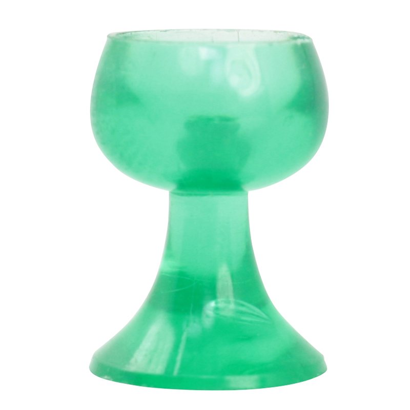 Vintage German Green Mini Wine Goblets  - 18 pcs - IV3-3513